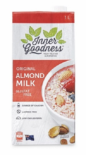 Inner Goodness Aldi almond milk