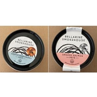 Bellarine Smokehouse Smoked Barramundi and Smoked Salmon Pates 150g