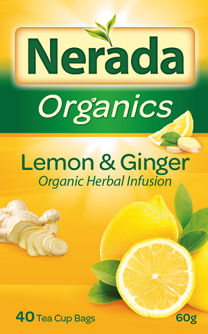 Nerada Lemon & Ginger Tea