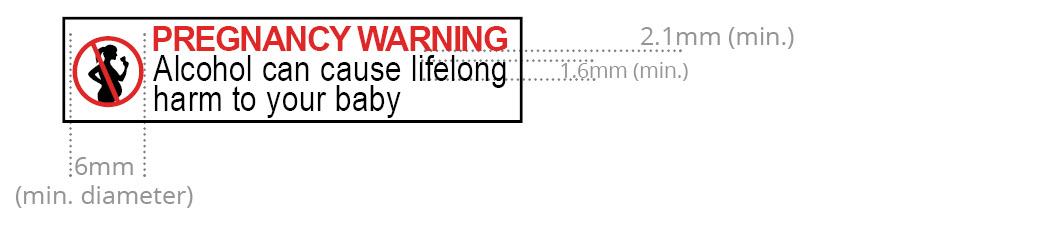 Pregnancy warning labels downloadable files
